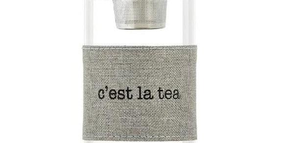 Water Bottle Tea Infuser - C'est la tea