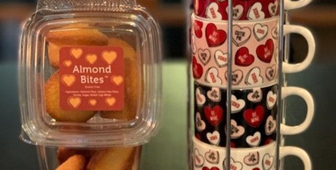 Almond Bites™ - LOVE Edition - 4 Boxes (4 Bites/Box)