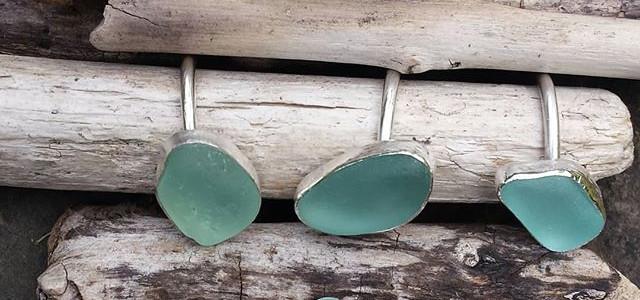 Genuine Seaglass Rings