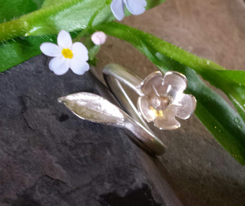 Water-forget-me not Ring