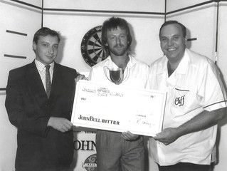 Ivor was a champion . . . but cruelly denied the opportunity to finish his best years on the oche