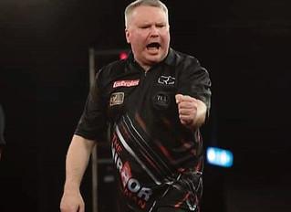 Stevenson qualifies for the European Darts Grand Prix