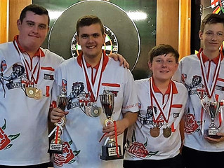 England return from Europe Youth Cup with silverware
