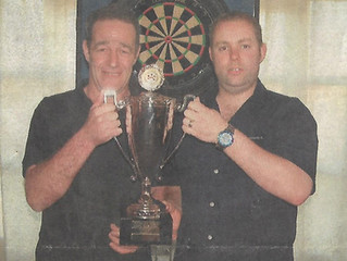 Teenage prodigy and first darts title before his 20th birthday to Super League champion 25 years on