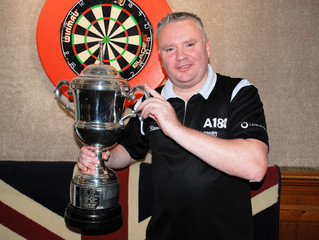 Record equalling feat for champion Stevenson