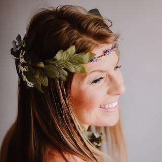 Boho Ivy Goddess Hair and Makeup