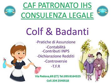 Colf Badanti assunzione contratto conteggi TFR MAV contributi indennità cessazione