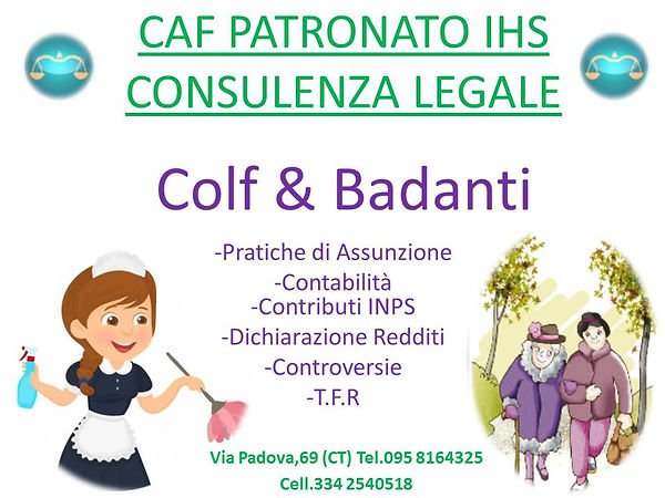 Colf Badanti contratto assunzione conteggi TFR indennità covid19