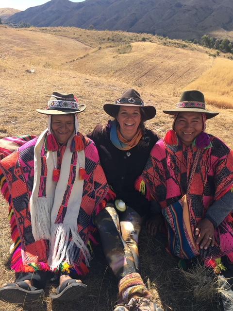 Julie Hannon, Shaman, Peru