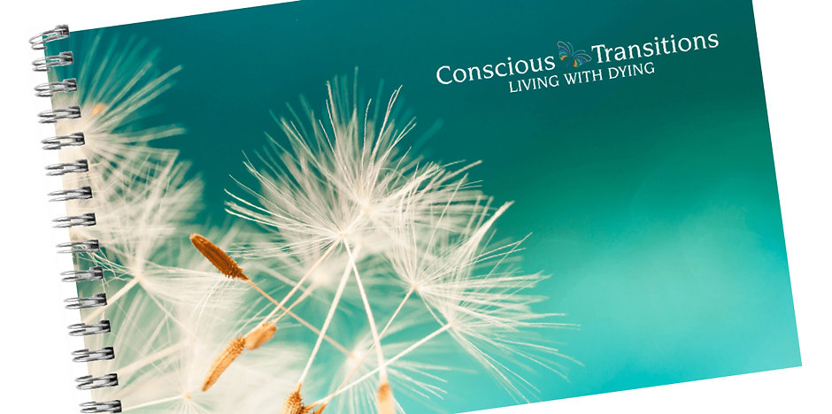 Conscious Transitions: Living with Dying Guidebook (print edition)