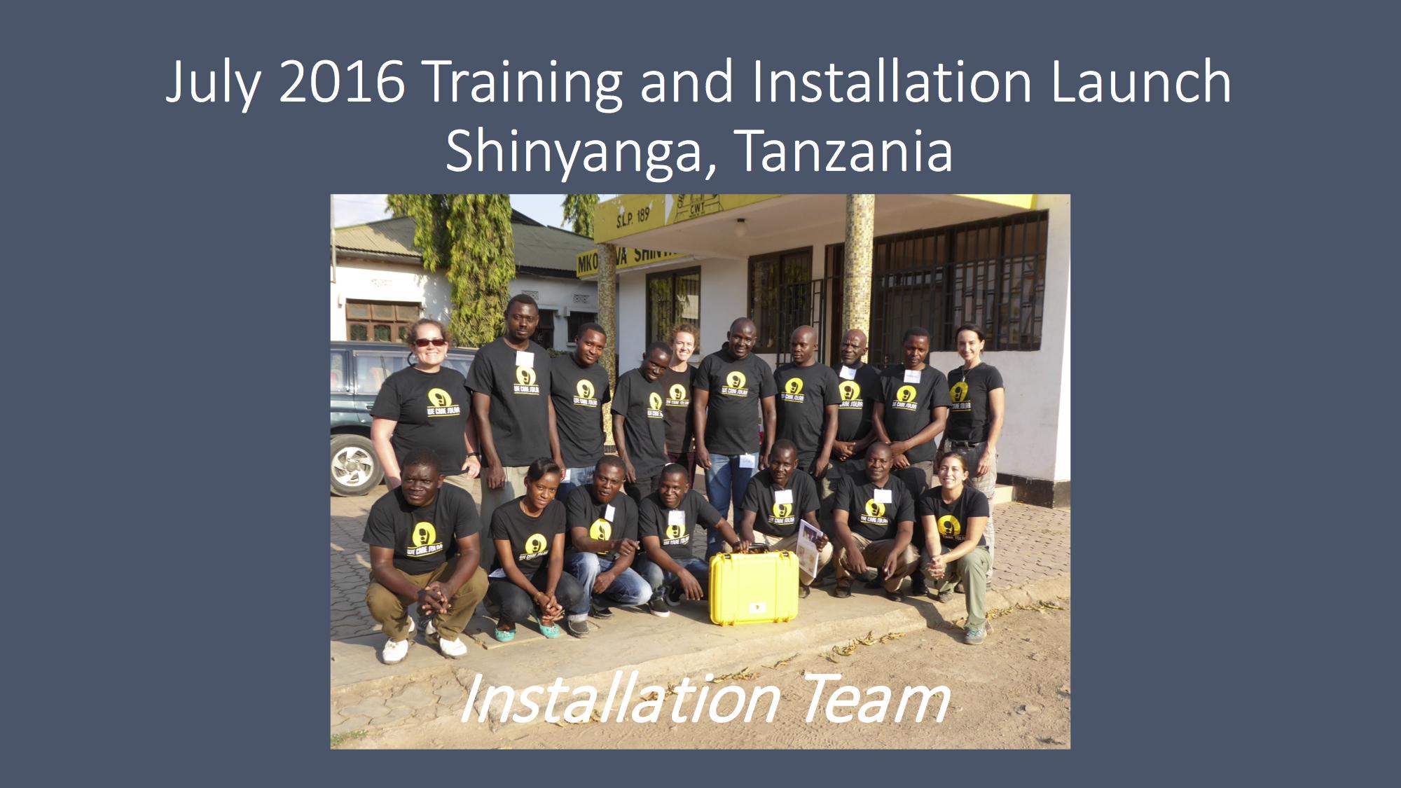 2016 Solar Suitcase Program