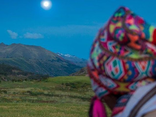 A Full Moon Gift from the Andes