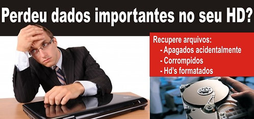 Reculperacao de Dados Hd Notebook e PC em Recife