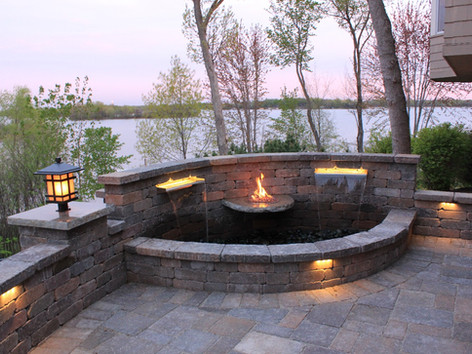 Outdoor Fire and Water