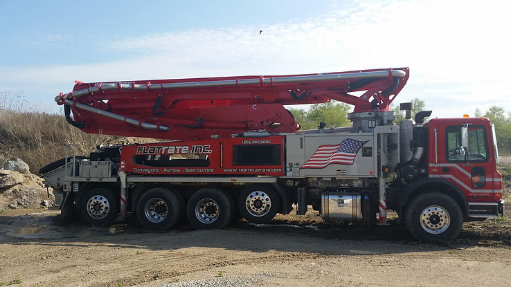 Concrete Pump Rental, Sales & Servie