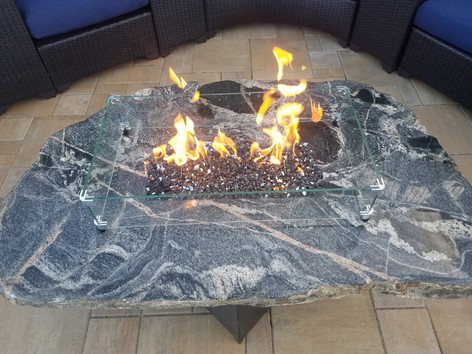 Line Burner Fire Table