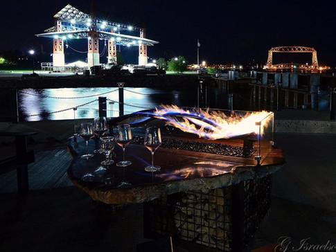 Wave Burner Fire Table Duluth