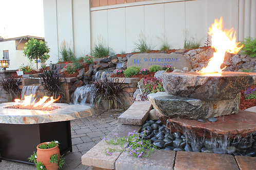 State Fair Fire Fountain-SOLD
