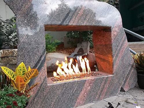 Stone Portal Fireplacce