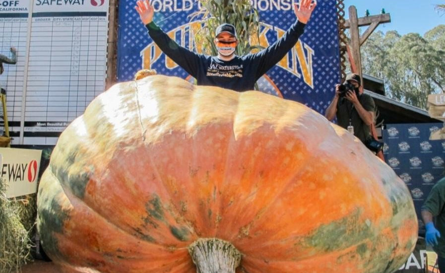 The Great Pumpkin has been found, and it's a World Champion!