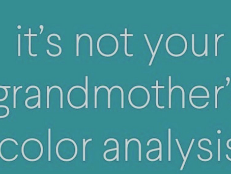 Not Your Grandmas Color Analysis