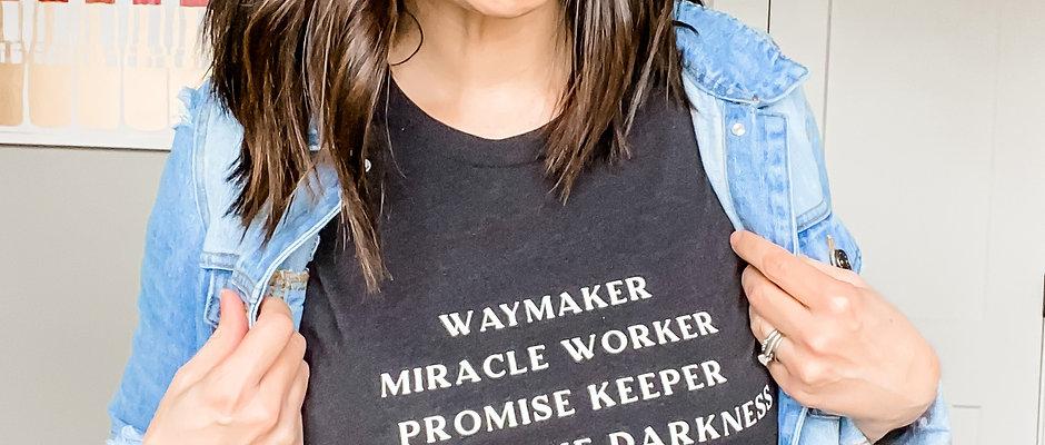 Waymaker T-shirt BLACK