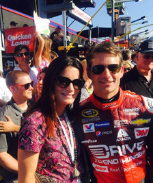 With Jeff Gordon