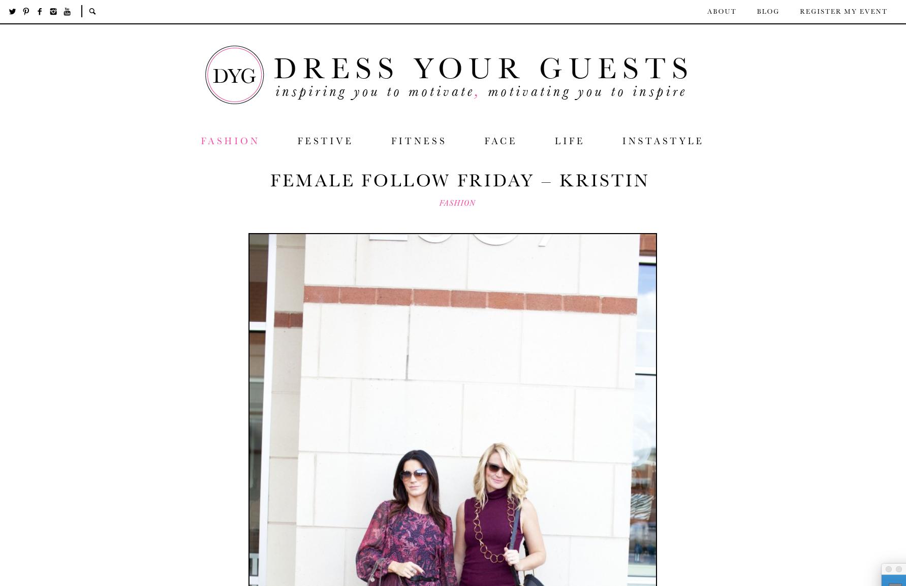 Dress Your Guest | Kristin Heinrich