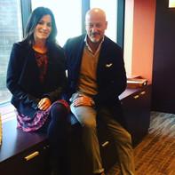 With Domenico Vacca, NYC