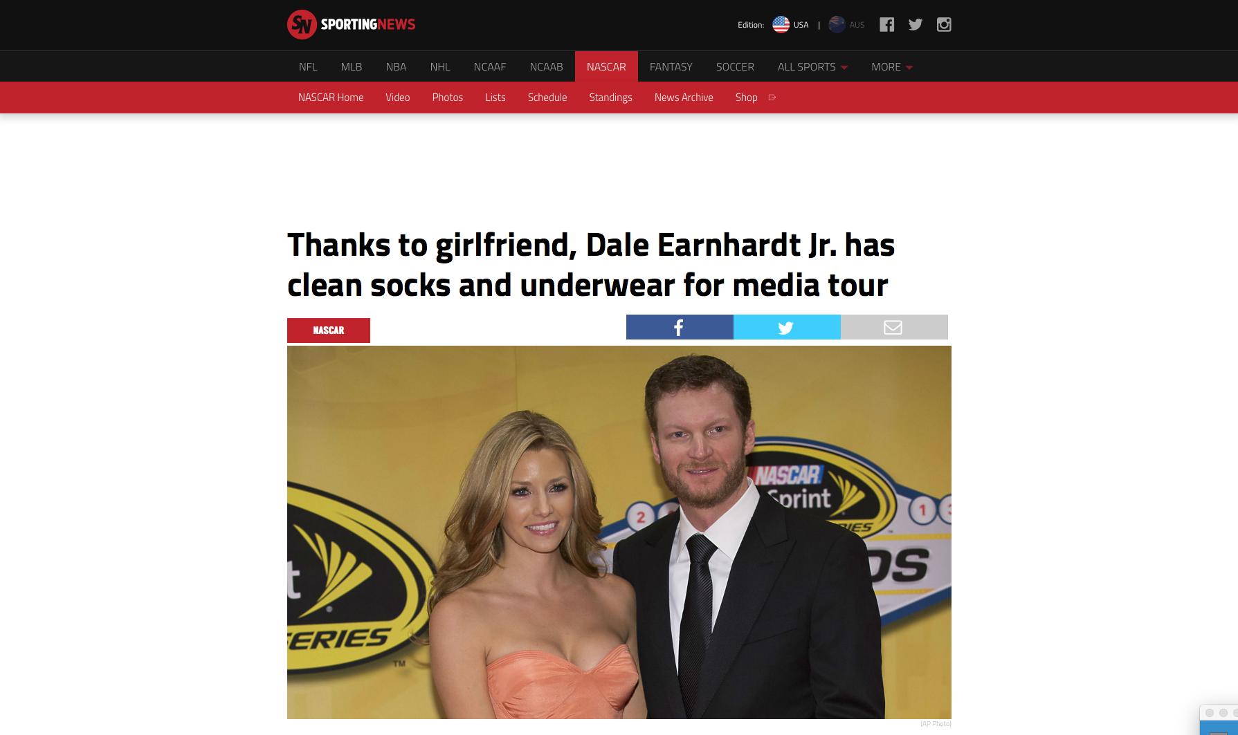 Sporting News | Kristin Heinrich