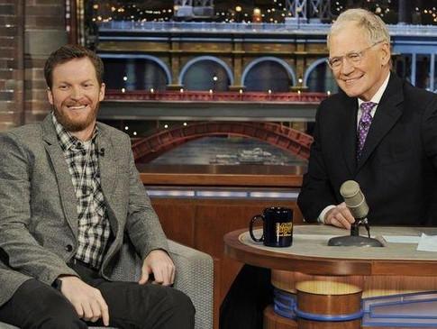 Dale Earnhardt, Jr. on Letterman