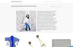 The Brand Shop | Kristin Heinrich