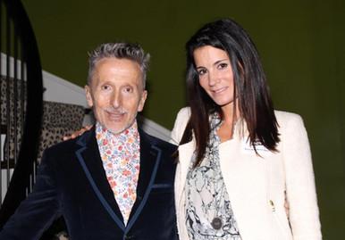 With Simon Doonan, former Creative Director of Barney's NY