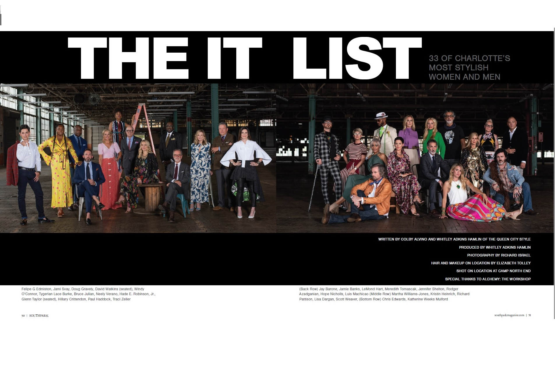 The IT List Cover
