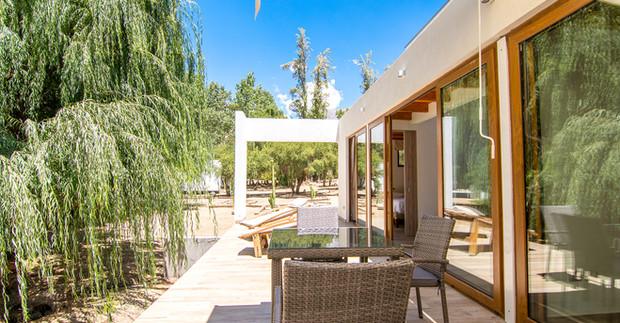 Terraza Villa Bosque