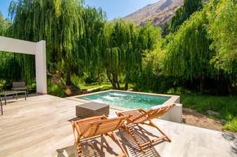 Terraza con Piscina Exclusiva Villa Deluxe