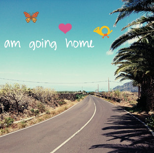 I am going home