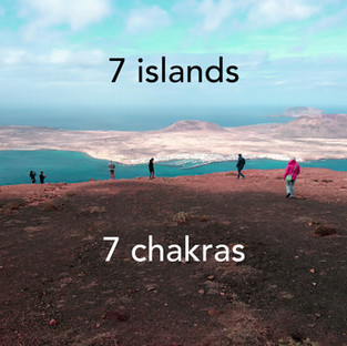 The book '7 islands 7 chakras'
