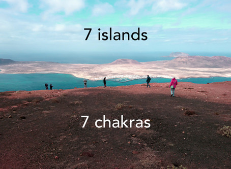 The book '7 islands 7 chakras'