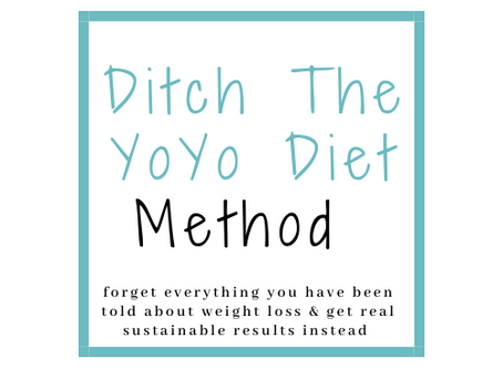 Ditch The YoYo Diet Method: The Answer To Your Weight-Loss Struggle