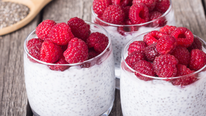 Creamy Raspberry Chia Breakfast Bowl