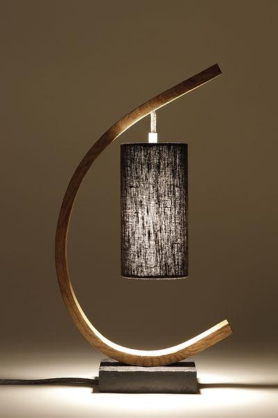 Steamed Oak Lamp
