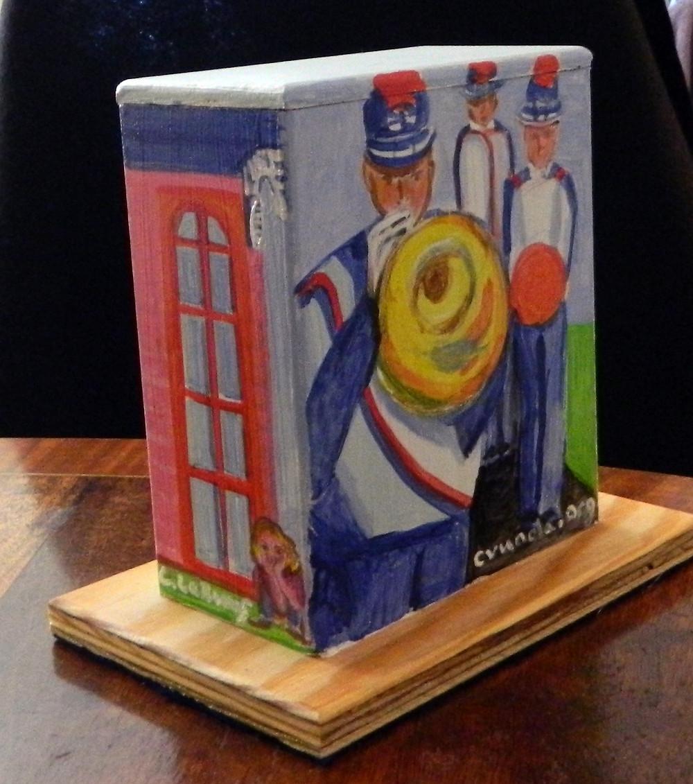 #21 band mini box @ St. Claude & St. Roch by Linda LeBoeuf