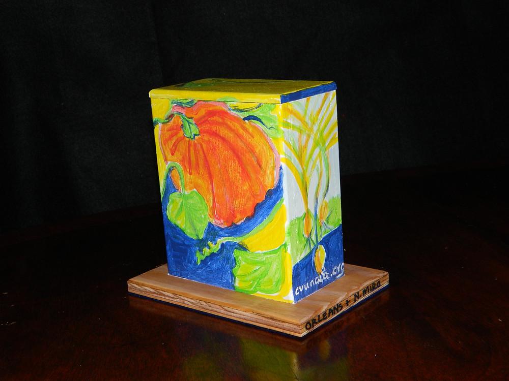#8 Vegies Mini Box @ N. Miro & Orleans by Linda LeBoeuf