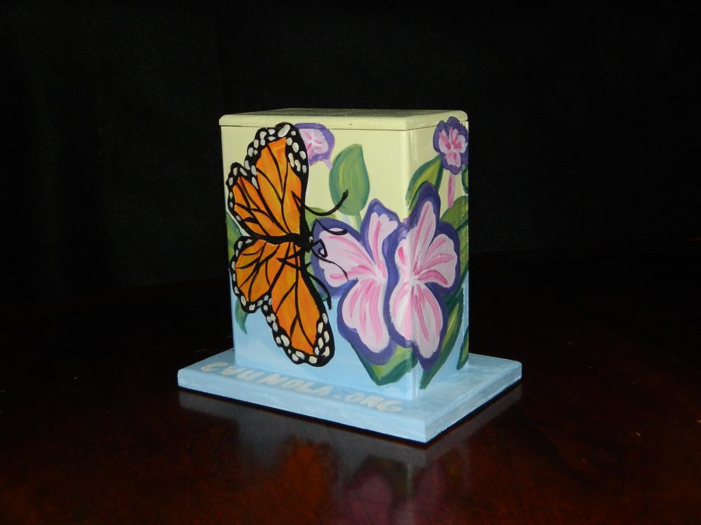#14 butterflies mini box @ Elysian Fields & Mirabeau by Jessica Normington