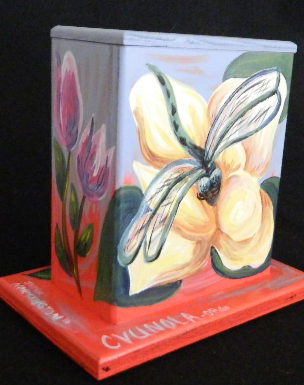 #22 Dragon Fly Mini Box @ Elysian Fields & Filmore by Jessica Normington