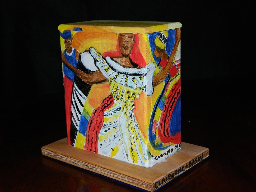 #6 Basin & Claiborne Mini Box by Linda LeBoeuf