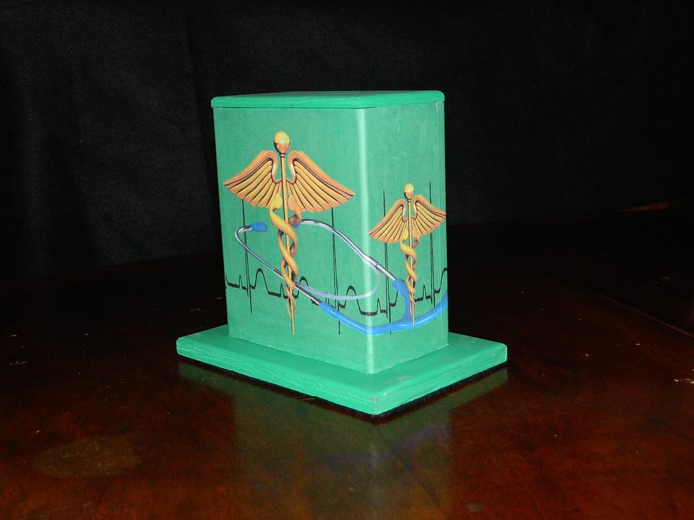 #19 Medical Mini Box @ Tulane & Prieur by Robin Daning