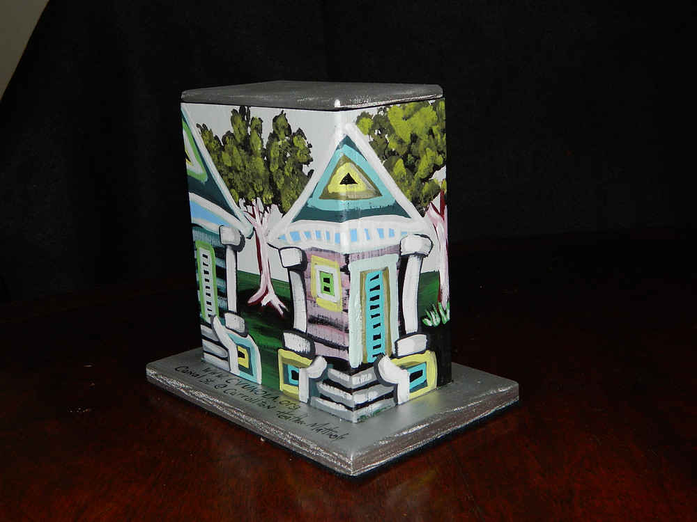 #13 Shotgun houses mini box @ Carrollton & Canal by Heather Mattingly