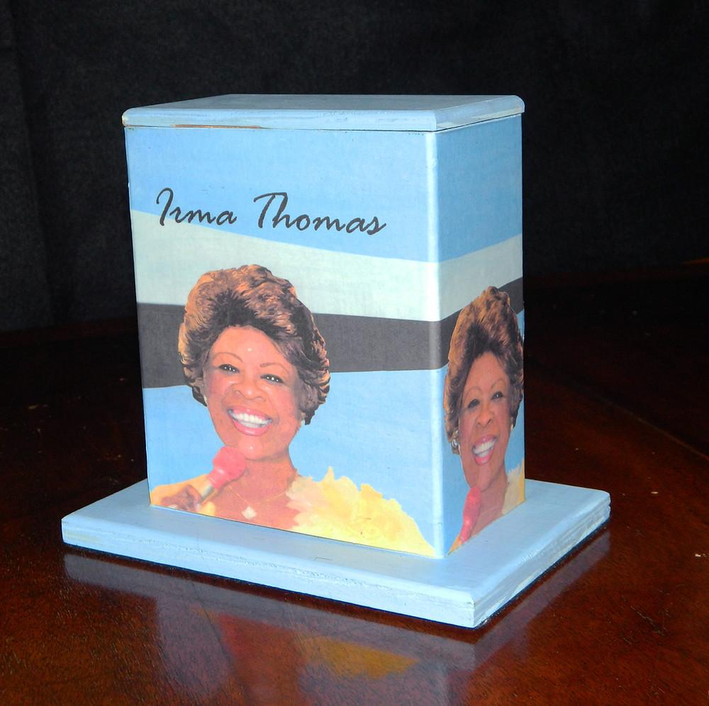 #18 Irma Thomas Mini Box @ Canal & Basin by Robin Daning